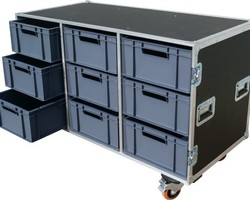 Flight case 9 BACS EURO 600