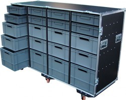 flight case 20 bacs EURO 600