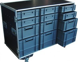 flight case 12 bacs EURO 400