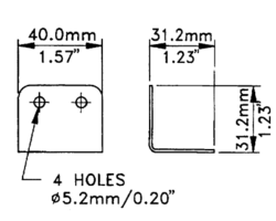 Renfort d'angle 31.2x40