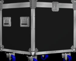 Flight case malle à cables 600x600x600