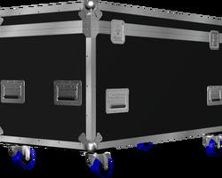 Flight case malle 1250x500x600