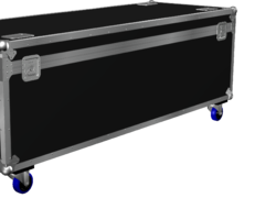 Flight case malle 1400x600x600