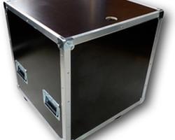 Flight case capot plat 600x600x600