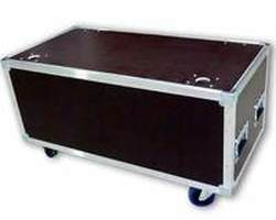 Flight case capot plat 1000x500x400