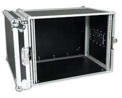"Flight case rack 19"" 8U"