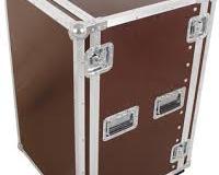 """Flight case rack 19"""" 18U a roulettes"""