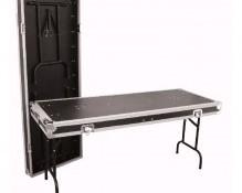 Flight case table double