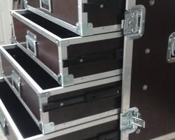 Flight case 4 tiroirs