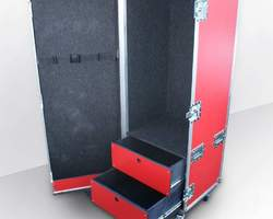 Flight case penderie