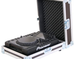 Flight case régie CD, vinyles